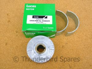 Alternator Rotor, Genuine Lucas 54202299, Classic Bike.